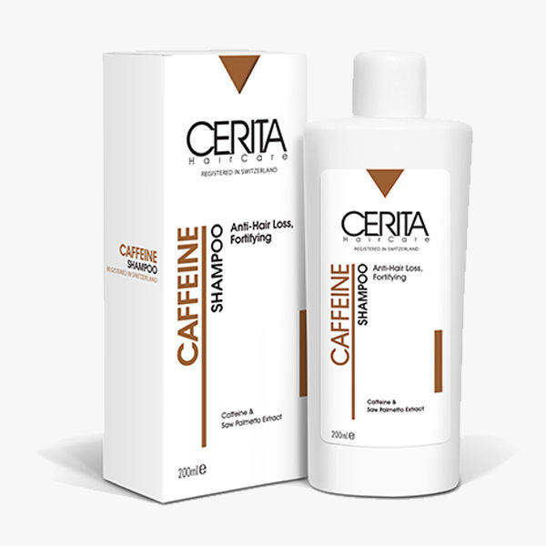 شامپو ضد ریزش مو کافئین سریتا Cerita حجم 200 میلیلیتر 3