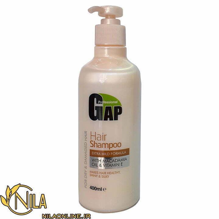 شامپو گپ Gap برای موهای خشک و آسیب دیده حجم 400 میلیلیتر