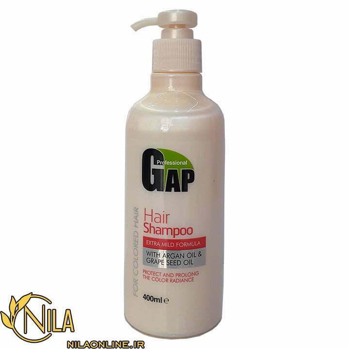 شامپو گپ Gap برای موهای رنگ شده حجم 400 میلیلیتر
