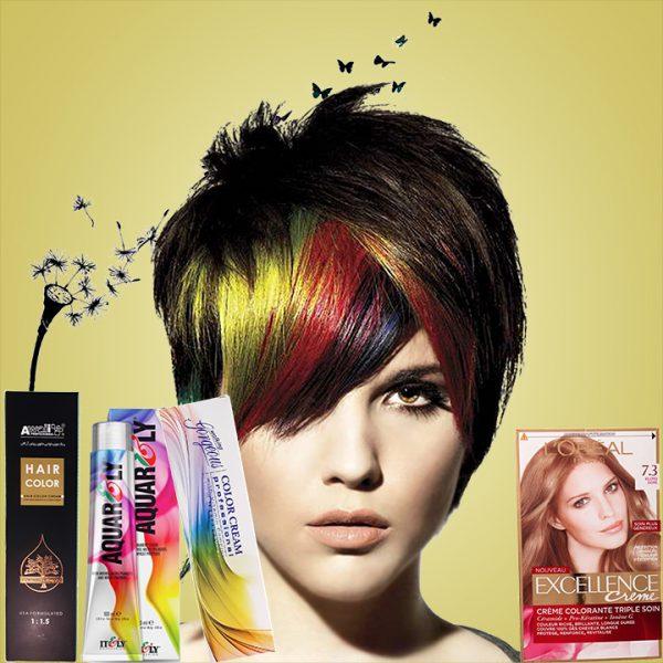 رنگ مو خارجی