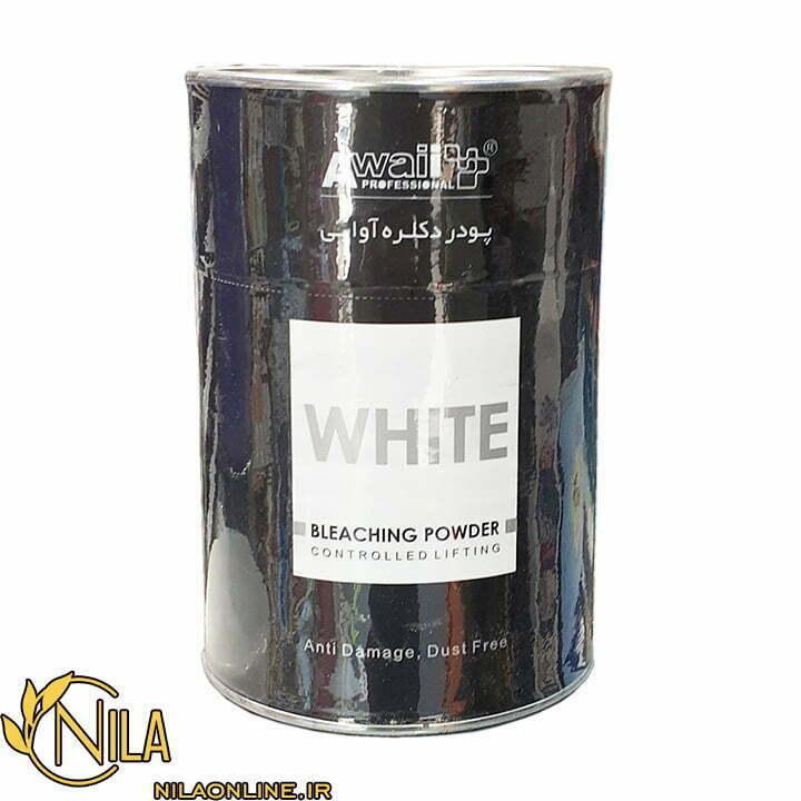 پودر دکلره سفید آوایی 500 گرم