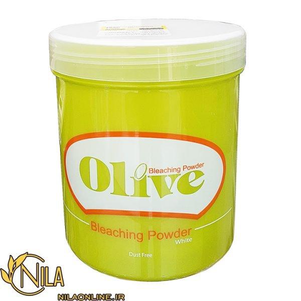 پودر دکلره سفید Olive اولیو