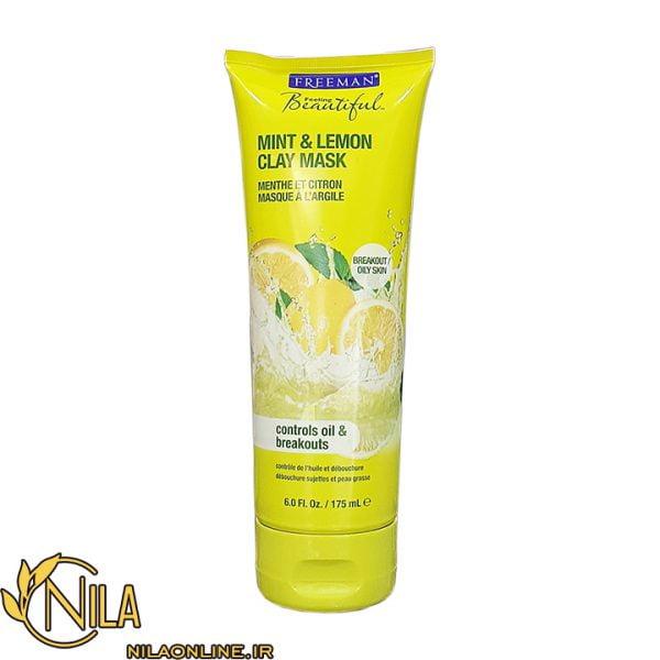 ماسک صورت فریمن Freeman مدل لیمو ونعناع Mint & Lemon