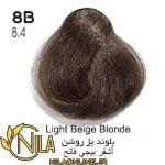 بلوند بژ روشن 8B
