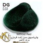 واریاسیون سبز (ضد قرمزی( N