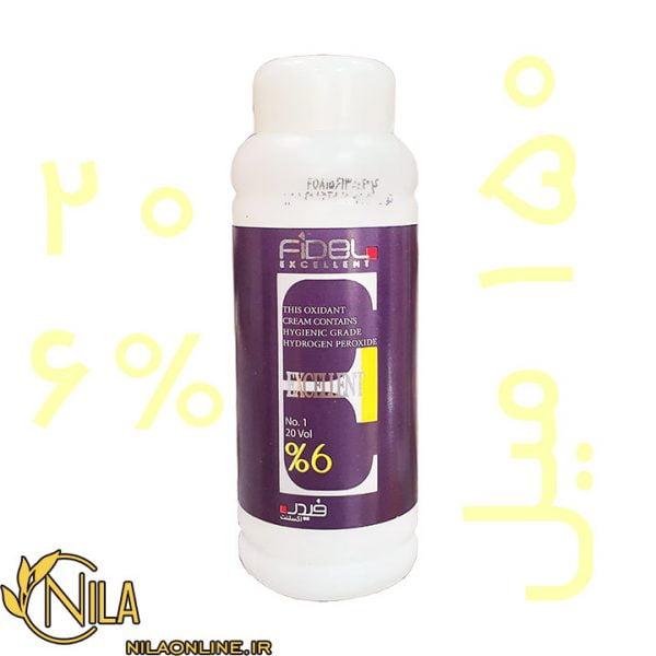 کرم اکسیدان 20 یا 6% فیدل