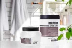 ماسک موی بازسازی کننده کراتین کی پرو KEYPRO حجم 1000 میلیلیتر