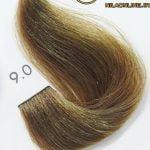 رنگ موی آوایی بلوند خیلی روشن 9.0