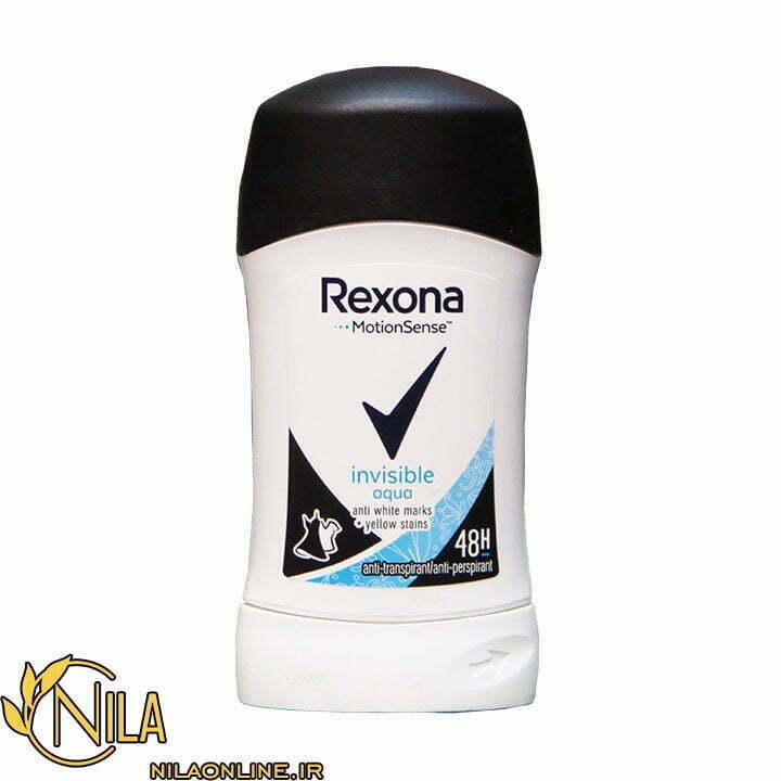استیک ضد تعریق (دئودرانت) رکسونا مدل آکوا نامرئی Invisible aqua 40 میلی لیتر