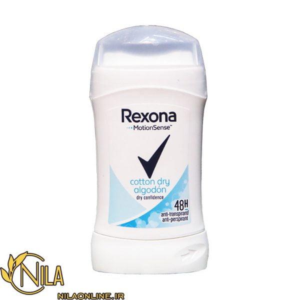 استیک ضد تعریق (دئودرانت) رکسونا مدل کتون Cotton dry 40 میلی لیتر