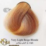 رنگ موی بلوند بژ خیلی روشن 9.31 سانتکس