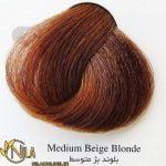 رنگ موی بلوند بژ متوسط 7.31 سانتکس