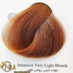 رنگ موی بلوند خیلی روشن قوی 9.00 سانتکس