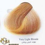رنگ موی بلوند خیلی روشن 9.0 سانتکس