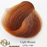 رنگ موی بلوند روشن 8.0 سانتکس