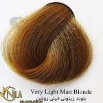 رنگ موی بلوند زیتونی خیلی روشن 9.2 سانتکس