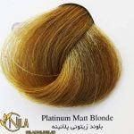 رنگ موی بلوند زیتونی پلاتینه 10.2 سانتکس