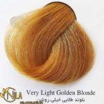 رنگ موی بلوند طلایی خیلی روشن 9.3 سانتکس