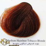 رنگ موی بلوند فندوقی تنباکویی متوسط 7.35 سانتکس