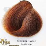 رنگ موی بلوند متوسط 7.0 سانتکس
