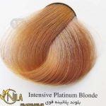 رنگ موی بلوند پلاتینه قوی 10.00 سانتکس