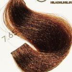 رنگ موی آوایی بلوند شکلاتی گرم متوسط 7.65