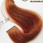 رنگ موی آوایی عسلی متوسط 7.34