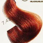 رنگ موی آوایی بلوند مسی طلایی متوسط 7.43