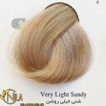 رنگ موی شنی خیلی روشن 9.13 سانتکس