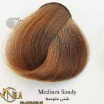 رنگ موی شنی متوسط 7.13 سانتکس