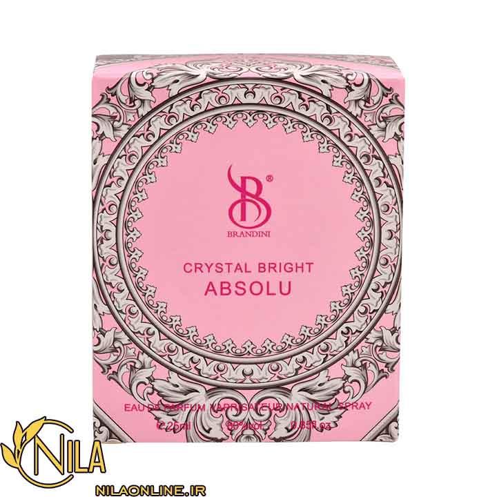 عطر ادلکن کریستال برایت ابسولو زنانه Crystal bright absolu برندینی