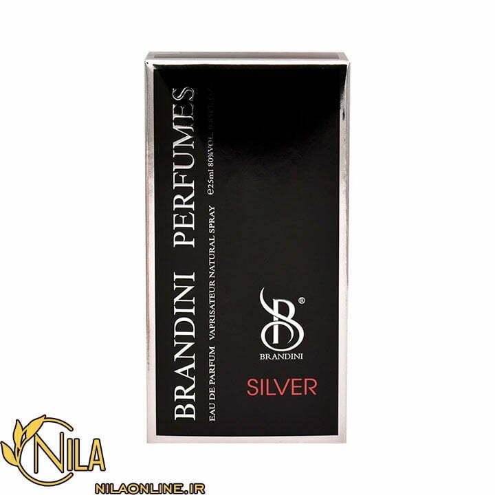 عطر ادکلن سیلور مردانه Silver برندینی
