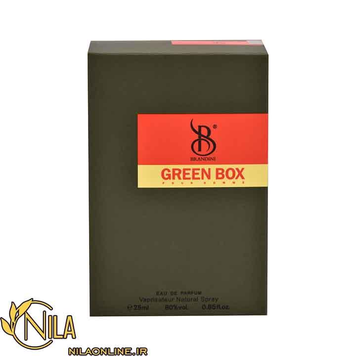 عطر ادکلن گرین باکس مردانه Green box برندینی