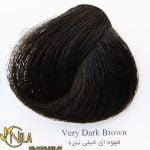 رنگ موی قهوه ای خیلی تیره 2.0 دیلنزو