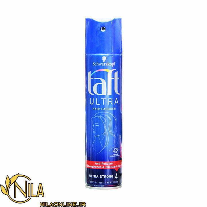اسپری نگهدارنده حالت مو تافت Taft Hair Lacquer قوی شماره 4 حجم 250 میلی لیتر