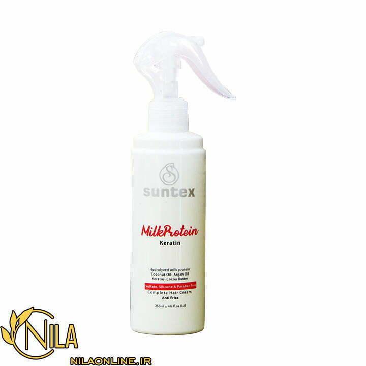 شیر مو کرمی حاوی کراتین سانتکس باز کننده گره مو حجم 250 میلی لیتر