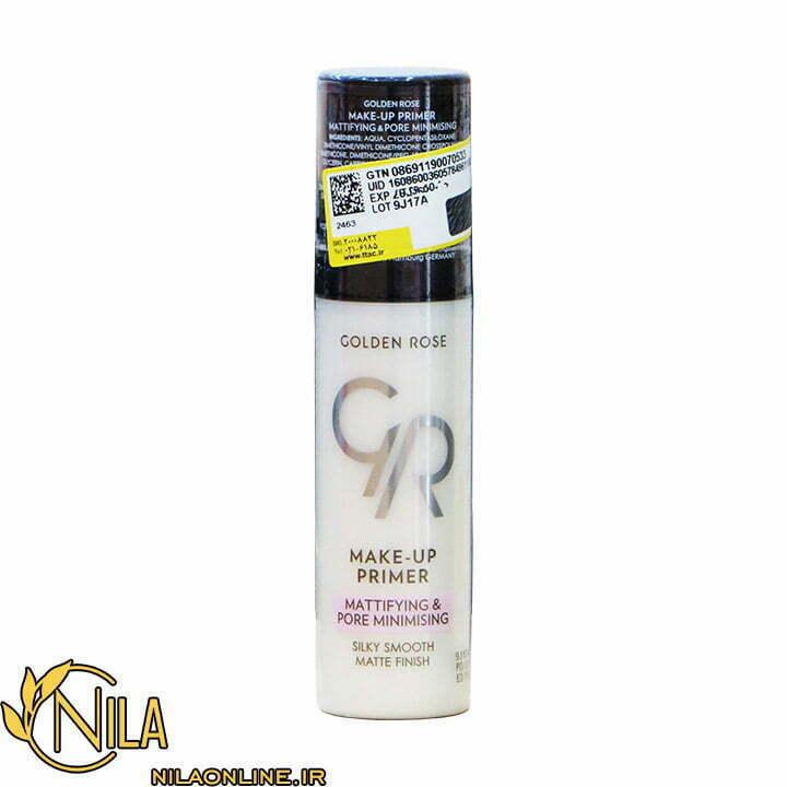 پرایمر آرایش گلدن رز Golden Rose صاف کننده و کاهش دهنده منافذ حجم 30 میلی لیتر