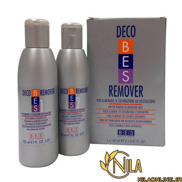 پاک کننده رنگ مو آرایشی بس دکو ریمور BES DECO REMOVER