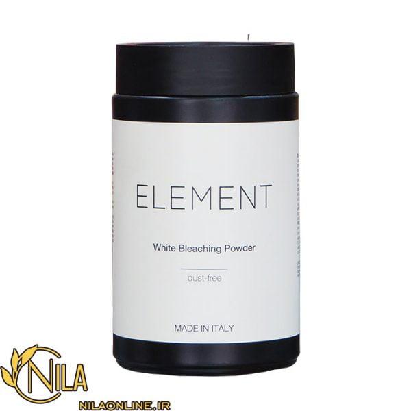 پودر دکلره المنت Element سفید بدون غبار 500 گرم